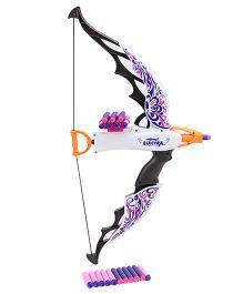 Mitashi Bang Electra Peacock Toy Bow Gun - Multi Color