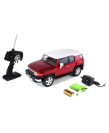 Mitashi Dash RC Rechargeable Toyota FJ Cruiser Car - Red