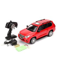 Mitashi Dash RC Rechargeable Toyota Prado Car - Red