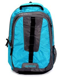 American Tourister Buzz 04 Back Pack Blue And Grey - 18 Inches
