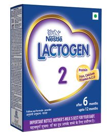 Nestle Lactogen 2 Follow-up Formula Powder - 400 gm