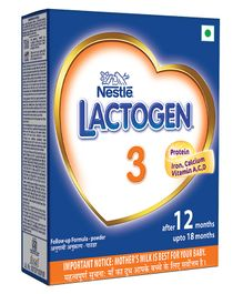 Nestle Lactogen 3 Follow-up Infant Formula Powder - 400 gm