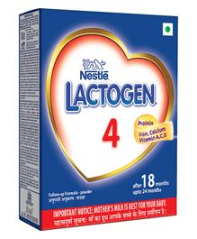 Lactogen 4 Follow-up Infant Formula Bib 400 gm