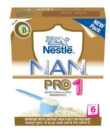 Nestle Nan Pro 1 Infant Formula - 400 gm