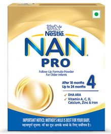 Nestle Nan Pro 4 Infant Formula Powder - 400 gm