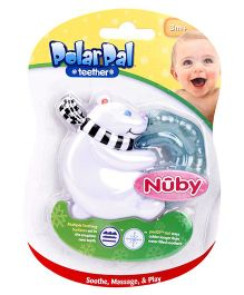 Nuby Polar Pal Teether - White And Black