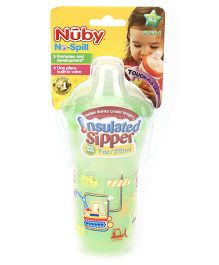 Nuby No Spill Insulated Sipper - 270 ml(Colour May Vary)