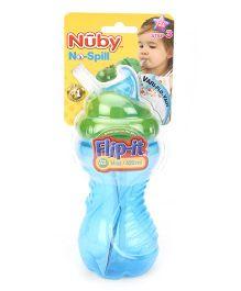 Nuby No Spill Flip It Cup Blue - 420 ml