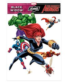 Black Widow Joins The Mighty Avengers - English