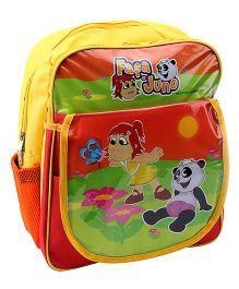 Fafa n Juno School Bag - Yellow And Orange