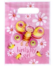 Riethmuller Party Loot Bag Birthday Girl Print - Pack Of 6