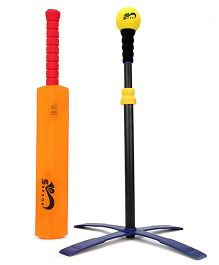 Safsof Tee Ball Set Cricket - Orange And Red