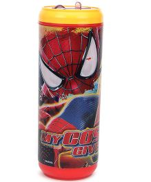 Cello Homeware Can Water Bottle Spiderman Red And Yellow - 500 ml