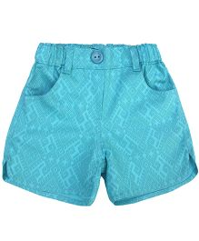 Campana Printed Shorts - Blue