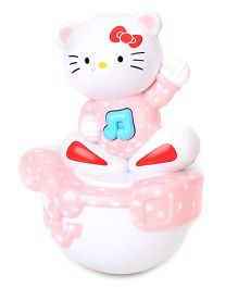 Kumar Toys Roly Poly Kitty Face - Pink And White