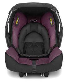 Graco Evo Snugsafe Car Seat - Plum