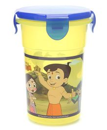 Chhota Bheem Tumbler Yellow And Blue - Capacity 350 ml