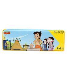 Chhota Bheem Double Sided Pencil Box - Yellow
