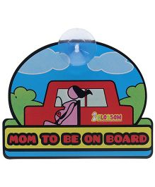 Blossom Child Proofings Mom To Be On Board - Multicolour