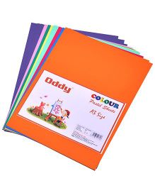 Oddy Double Side Pastel Color Sheets A3 Size - Set Of 3