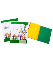 Oddy A4 Size Scrap Book With Color Pastel Sheets 16 Pages - Set Of 10
