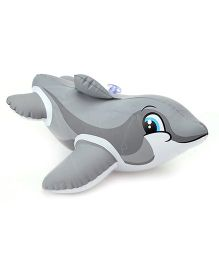 Intex Puff N Play Water Toy Shark Fish Shape - Grey