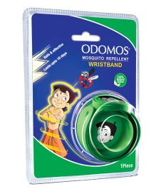 Dabur Odomos Mosquito Repellent Wrist Band Green - 1 Piece
