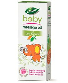 Dabur Olive Badam Baby Massage Oil - 200 ml