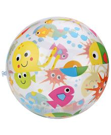Intex Lively Print Beach Ball - Multicolour