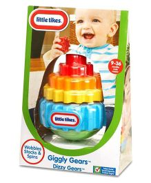 Little Tikes Giggly Gears Dizzy Gears Stacks And Spin Toy