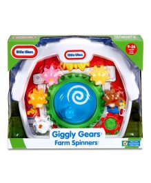 Giggly Gears Farm Spinners Toy