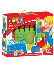 Toyhouse Blocks Set Puzzle Genius - 25 Pieces