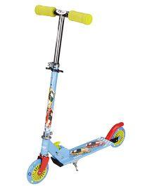 Toyhouse Two Wheeled Metal Folding Skate Scooter - Blue