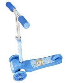 Toyhouse Lean to Steer Three Wheel Skate Scooter Doggy Print - Blue