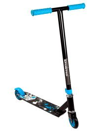 Toyhouse Stunt Skate Scooter Two Wheels - Black And Blue