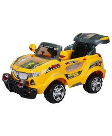 Toyhouse Thunder Jeep 6V Rechargeable Battery Operated Ride On SUV - Yellow