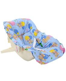 Infanto Baby Love Carry Rocker Teddy Bear Print Sky Blue - 045