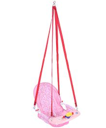 New Natraj Cozy Swing Deluxe Hearts Print - Pink