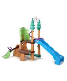 Little Tikes 1 2 3 Climber See Saw And Slide Set