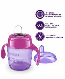 Avent Classic Spout Cup With Handles Red - 200 ml