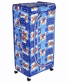 New Natraj Toys Storage Unit With Wheels - Blue