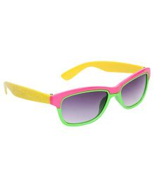 Kids Sunglasses Dual Color - Pink And Green