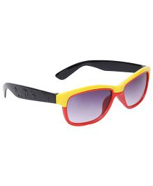 Kids Sunglasses Dual Color - Yellow And Red