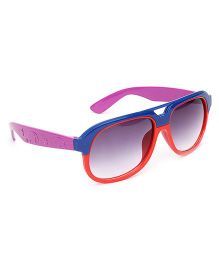 Kids Sunglasses Dual Color - Purple And Red