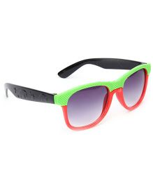 Kids Sunglasses Green And Red