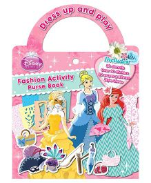 Disney Fashion Activity Purse Book - English