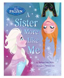 Disney Frozen A Sister More Like Me - English