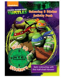 Nickelodeon Teenage Mutant Ninja Turtles Coloring And Activity Fun Pack