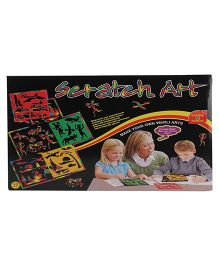 Avis Scratch Art - 6 Stencils