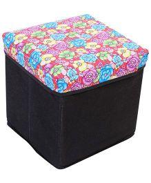 Ratnas Storage Cum Utility Box - Floral Print
